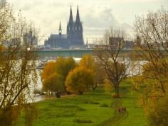 Rheinufer mit Dom (Foto: U. Sommer