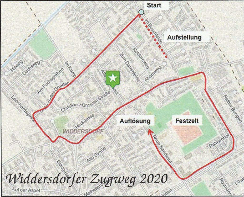 Kölner Karnevalszug 2021