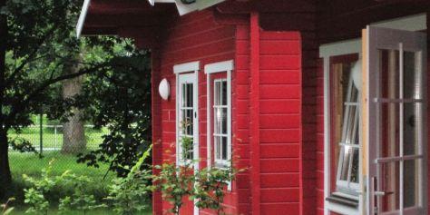 Das Hütten-Camp - Hütte 1