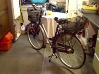 Fahrrad im Keller