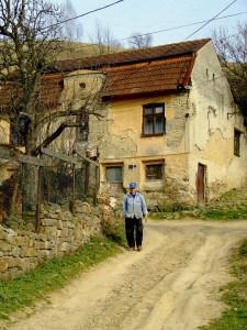 Der Imker in Sacueni (Rumänien)