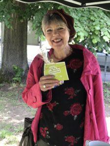 Gudrun Krispin von der Tabletgruppe, Foto: Friedel Weber, Netzwerk55plus