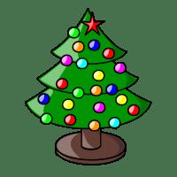 Weihnachtsbaum-Symbol