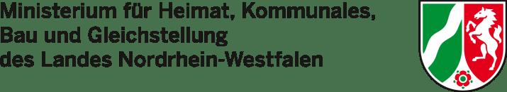 Logo Ministerium Heimat Kommunales Bau Gleichstellung