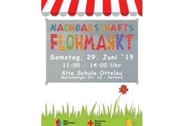 Plakat Flohmarkt Juni 2019