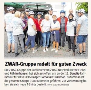 ZWAR Gruppe Radfahren
