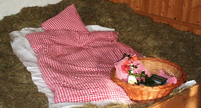 Schlafen im Heu / Moerenhof.de