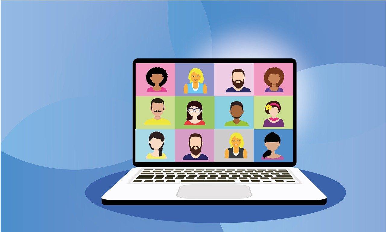 Bild einer Videokonferenz aus pixabay.com.de