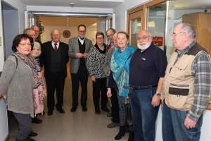 Die Besuchergruppe im Altenheim Lohmar