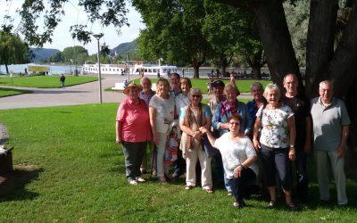 Die Senioren-Netzwerker und die Schnecke