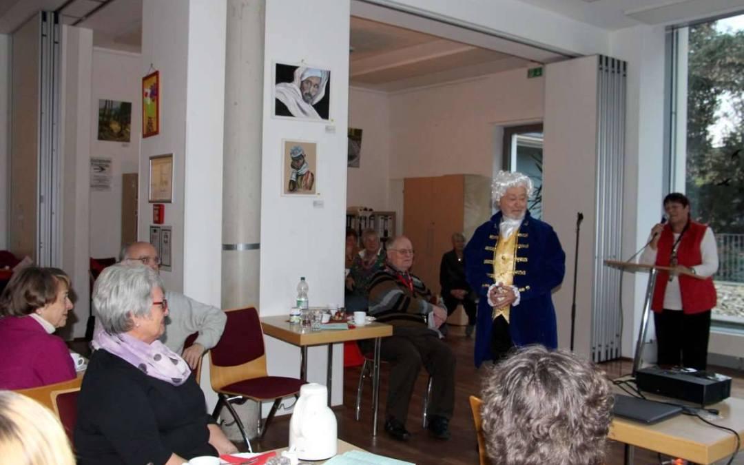 Mozart zu Gast in der Villa Friedlinde Ein literarisch-musikalischer Nachmittag mit spannenden Highlights