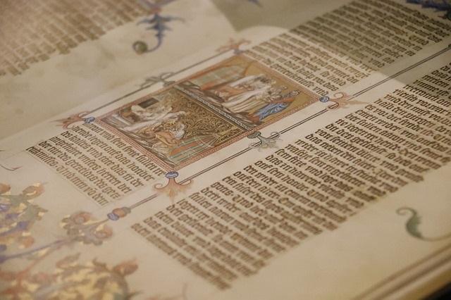 """""""Die Wenzelsbibel"""" – Farbenfrohe Geschichten aus dem Alten Testament präsentiert von Hans Dieter Heimig"""