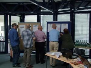 Offline-Beratung am dritten Workshoptag