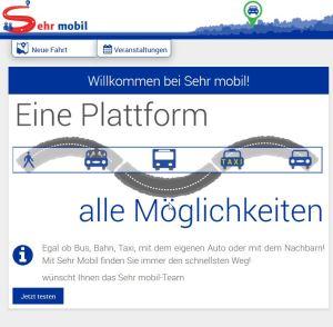 Screenshot Sehr mobil 100