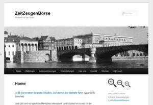 Screenshot der ZZB Mülheim an der Ruhr