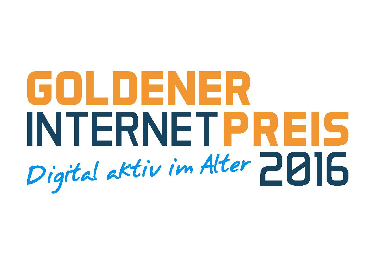 Logo Goldener Internetpreis 2016 Logo