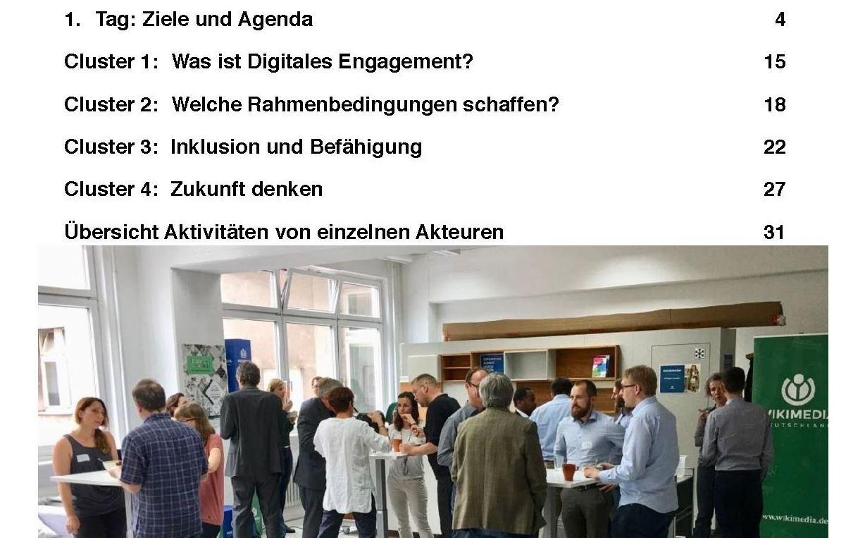 Agenda und Workshopfoto