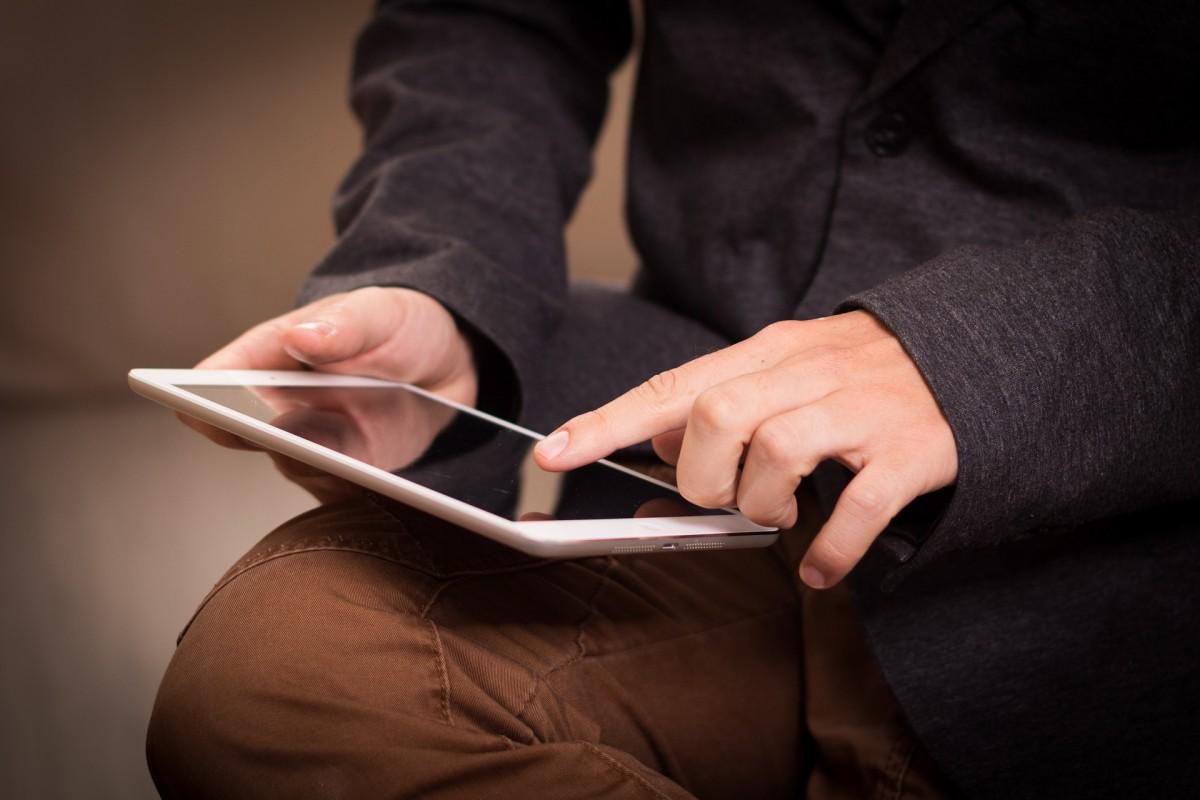 Digitales Engagement - Tablet