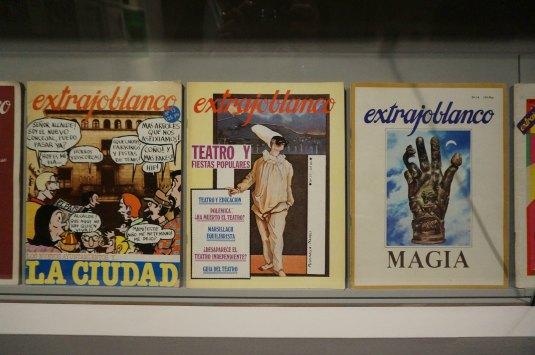 Ejemplares de la Revista Ajoblanco