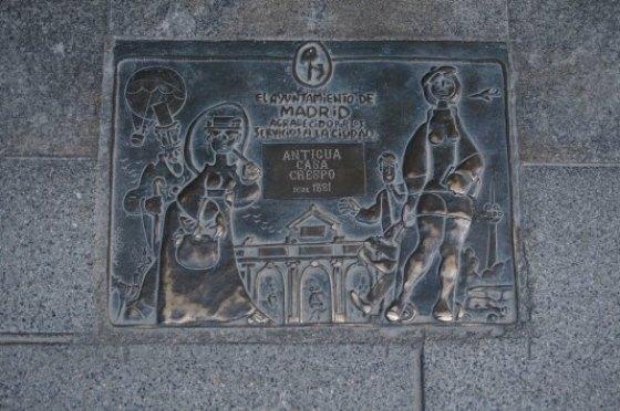 Comercio-centenario-Madrid-Placa- Casa- crespo
