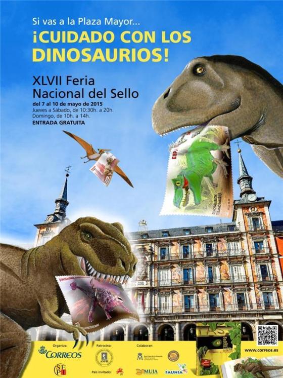 Dinosaurios-Feria-Sello-Plaza Mayor