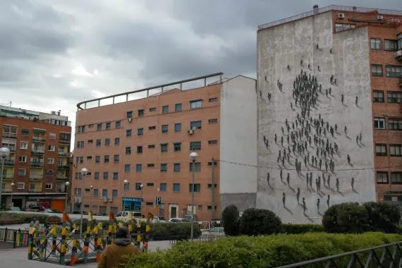 Intervención Suso 33 en Tetuán, Madrid. Foto tomada del blog: Don´t Stop Madrid