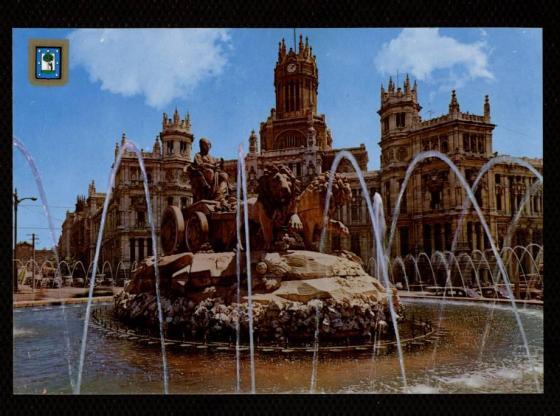 Fuente Cibeles Madrid