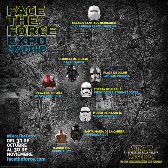 Exposicion face the force Madrid