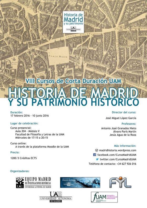 Curso Historia de Madrid