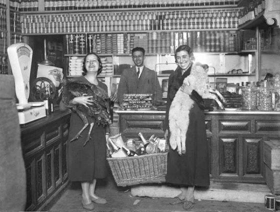 Cestas de Navidad 1933