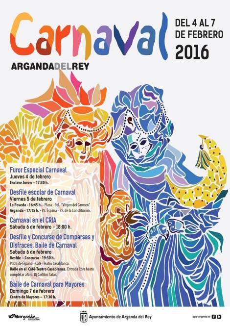 Carnaval 2016 Arganda del Rey
