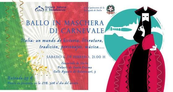 Carnaval italiano Madrid