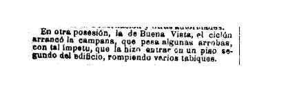 Vista Alegre Ciclon Madrid 1886