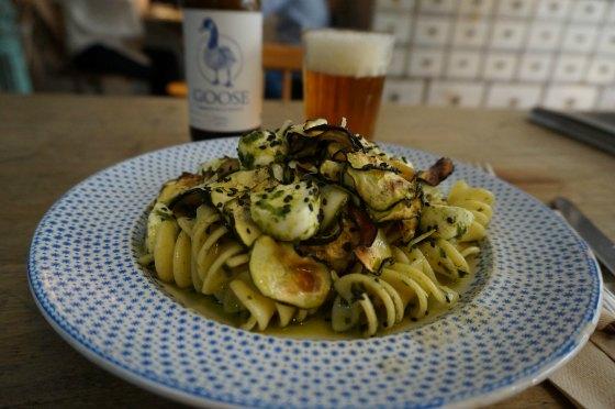 Tavolo Verde Plato de pasta madrid