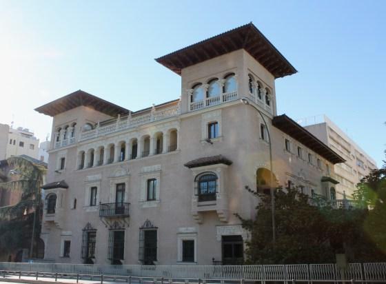 PALACIO BERMEJILLO in Madrid (Spain), built in 1916. Nowadays it houses the Spanish Ombudsman's headquarters.