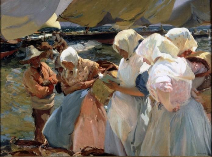 1903. Pescadoras Valencianas. Diputación de Valencia