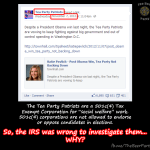 So… about the #IRS thing