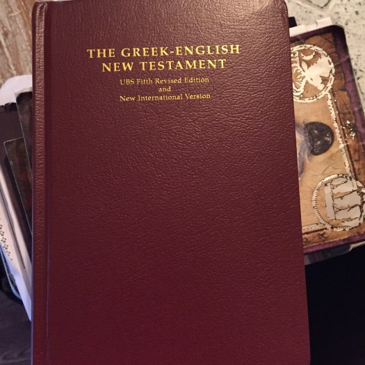 The UBS/NIV New Testament.
