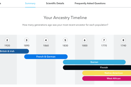 who am I? #23andme
