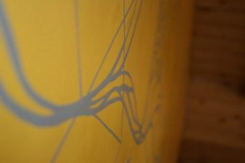 Abstract art at Wake & Bake 7