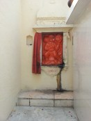 Hanuman Ji and Pink Bulb