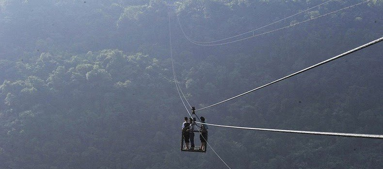 This Village In China Is Only Accessible Via A Zip Line