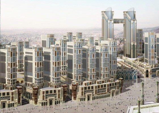 Saudi-Arab-Is-Building-World's-Largest-Hotel-In-Mecca-3