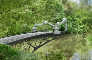 3D-Printed Steel Bridge in Amsterdam