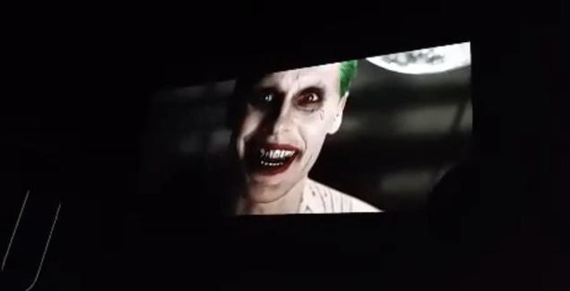 Jared Leto's Joker Shows Up in Leaked Suicide Squad Trailer