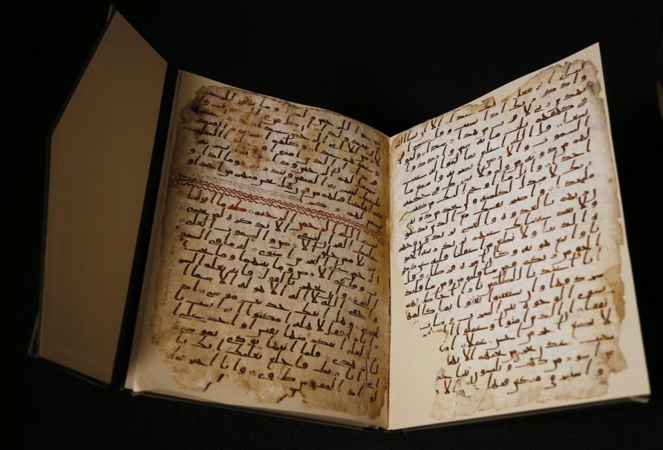 Ancient Pages of Koran Among Oldest Yet Discovered (1)