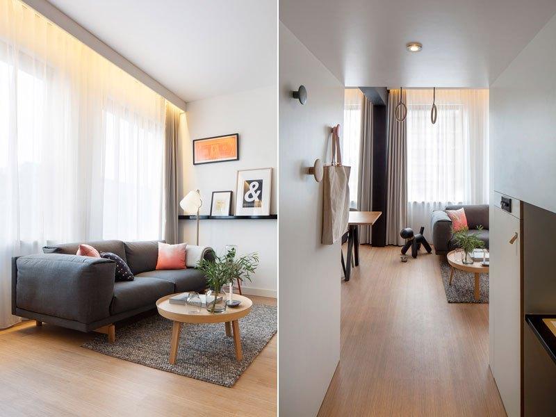 A Clever Hotel Room 'Loft' Designed For Global Nomads