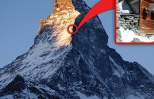 Awesome Hut Near The Summit of Matterhorn