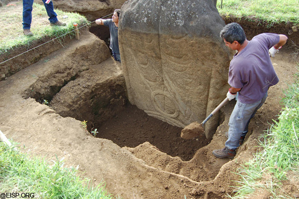 Shocking Discovery Underneath The Easter Island Heads