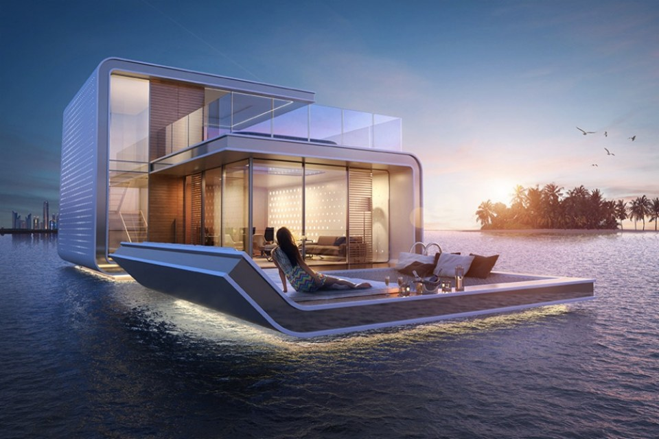 Dubai Floating Villas